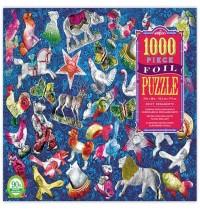 eeBoo - Puzzle Shiny Ornaments 1000 Teile