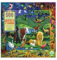 eeBoo - Puzzle Friedliches Königreich 500 Teile