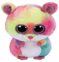 Ty Plüsch - Beanie Boos medium - Rodney, Hamster bunt, 24cm