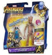 Hasbro - Avengers 6 Deluxe Figur mit Infinity Stone