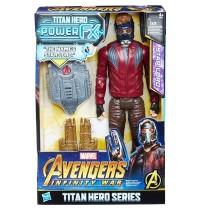 Hasbro - Avengers Titan Hero Power FX Star-Lord mit Power FX Pack