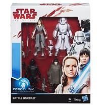 Hasbro - Star Wars™ Episode 8 3.75 Force Link Home Entertainment 4er Pack