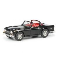 Schuco - Triumph TR5 mit offenem Surrey Top, schwarz-rot, 1:43