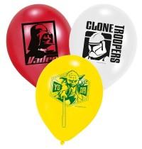 SW Luftballons 6er Star Wars