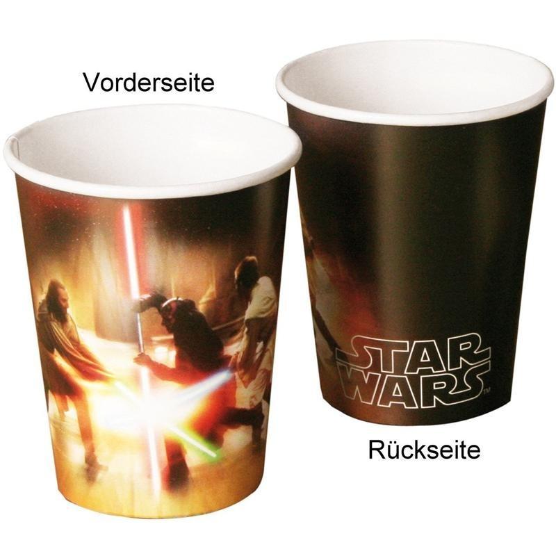 SW 8 Becher Star Wars