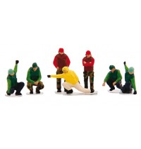 1/200 US NAVY Deck Crew-Launc