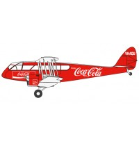 DH84 Dragon VH-AQU Coca Cola