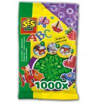 Bügelperlen grün 1000St.