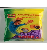 Bügelperlen violett 1000St.
