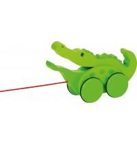Ziehtier Krokodil Kroki