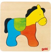 Einlegepuzzle Pferd