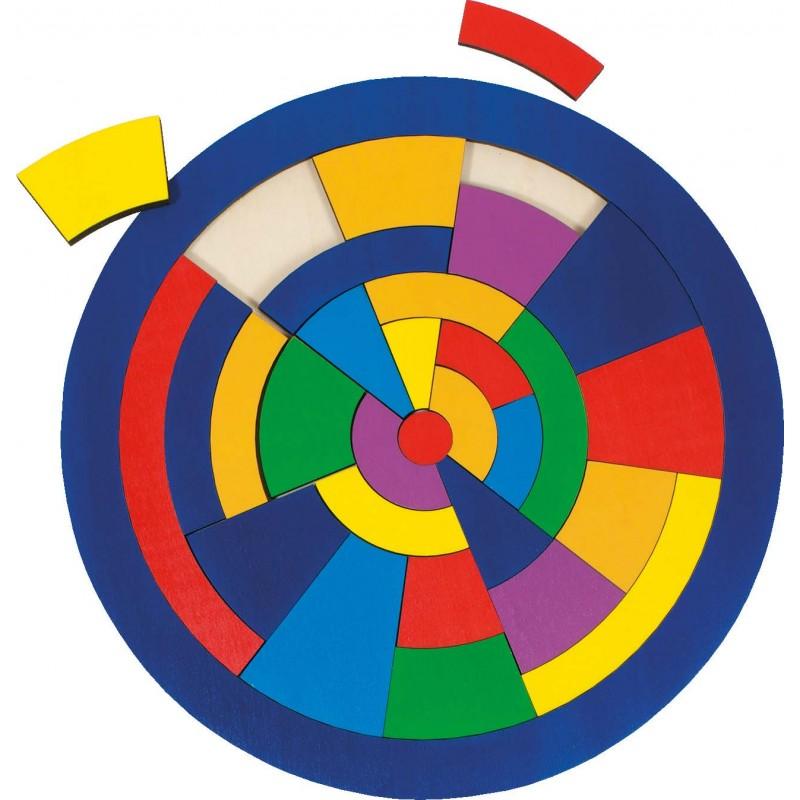 Einlegepuzzle Kreis