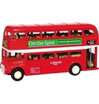 London-Bus mit Rückzugmotor