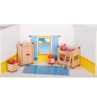 Kinderzimmer aus Holz,