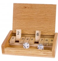 Shut the box  Würfelspiel