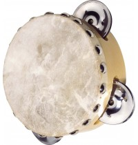 Tamburin mit Naturfell