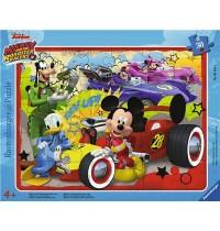 Ravensburger Spiel - Mickey und die flinken Flitzer geben Gas, 30 Teile