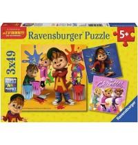Ravensburger Puzzle - Alvinnn!!! und die Chipmunks, 49 Teile