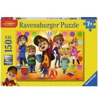 Ravensburger Puzzle - Alvin und seine Freunde, 150 XXL-Teile