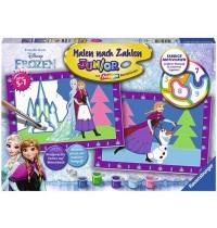 Ravensburger Spiel - Malen nach Zahlen Junior - Die Eiskönigin