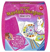 Ravensburger Spiel - Mini Mandala Designer Unicorn