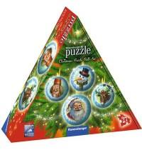 Ravensburger Spiel - 3D puzzleball - Weihnachtskugeln Geschenks., 27 Teile