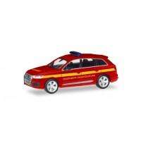 Audi Q7  Feuerwehr Einsatzlei