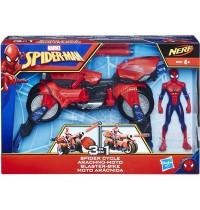 Hasbro - Marvel - Spider-Man 3-in-1 Blaster-Bike