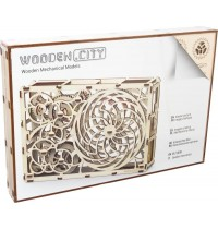 Wooden City Kinetic Picture