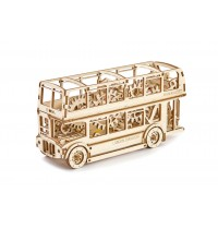 Wooden City London Bus