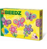 SES Creative - Beedz Bügelperlen Schmetterlingsgarten