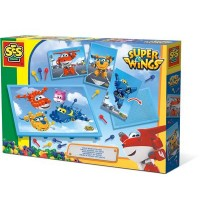 SES Creative - Mosaikbrett mit Super Wings-Karten