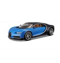 BBURAGO Hello Kitty - Bella Bambina 1:18 Bugatti Chiron, blau
