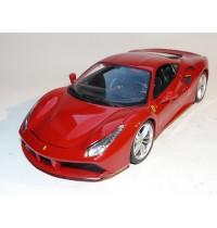 BBURAGO Hello Kitty - Bella Bambina 1:18 Ferrari 488 GTB, rot