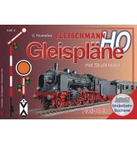 N Fleischmann Gleispläne H0