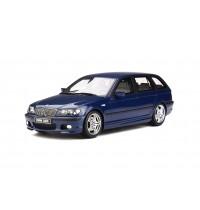 1/18 BMW 330i E46 Touring mit M-Paket, Mysticblau