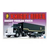 1/24 Knight Rider Truck Modellbausatz Trailer Truck