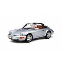 1/18 Porsche 911 targa Polarsilber