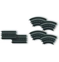 Carrera Evolution Ausbauset, 2 Geraden, 4 Kurven