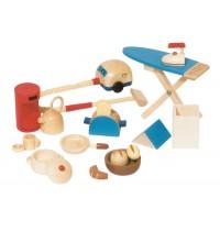 Puppenhaus Zubehör Küche,12tlg