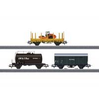 Güterwagen-Set Baustelle