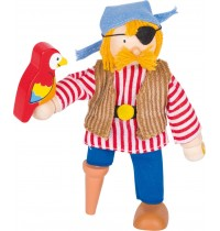Biegepuppe Pirat