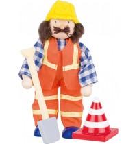 Biegepuppe Bauarbeiter III