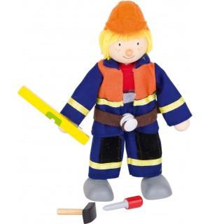 Biegepuppe Bauarbeiter I