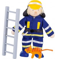 Biegepuppe Feuerwehrmann I