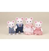 Weiße Maus Familie