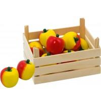 Äpfel in Obstkiste, Kiste: 13