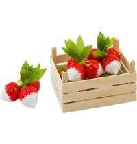 Radieschen in Gemüsekiste, Ki