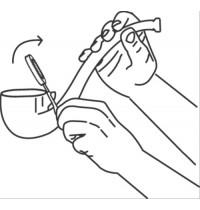 PUSTEFIX Seifenblasen Pfeife + 70 ml
