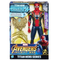 Hasbro - Avengers Titan Hero Power FX Spider-Man mit Power FX Pack